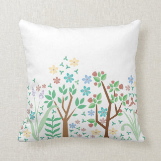 Spring Flower Design Pillow