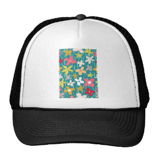 spring flower meadow cap
