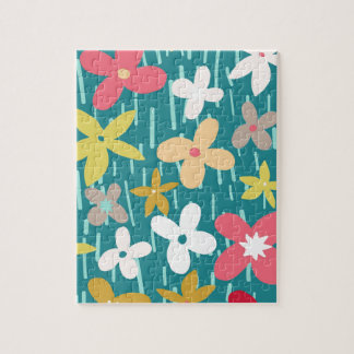 spring flower meadow puzzles