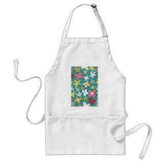 spring flower meadow standard apron