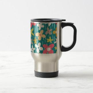 spring flower meadow travel mug