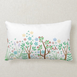 Spring Flower Pilow Lumbar Cushion