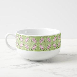 Spring flower soup mug