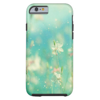 Spring Flowers & Blue Sky Impressionist Zen Tough iPhone 6 Case