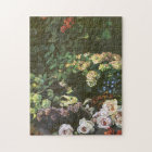 Spring Flowers Claude Monet Fine Art Jigsaw Puzzle