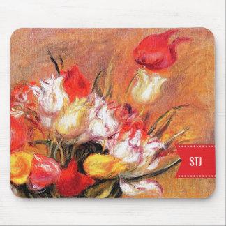 Spring Flowers. Fine Art Easter Gift Mousepads