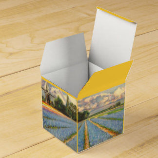 Spring Flowers for You Wedding Favour Boxes