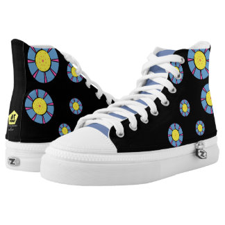 Spring flowers high tops