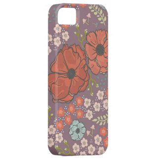 Spring Flowers in Purple iPhone 5 Cover