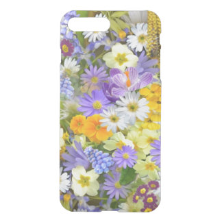 Spring Flowers iPhone X/8/7 Plus Clear Case