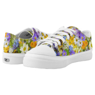 Spring Flowers Low-top Sneakers