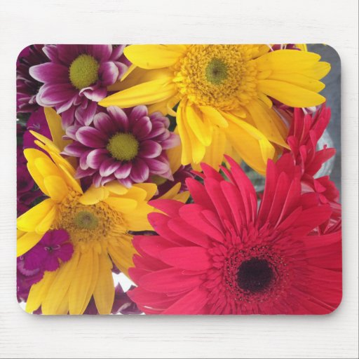 Spring Flowers Mouse Pads