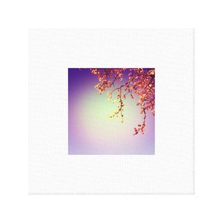 Spring Flowers Picture Canvas Print