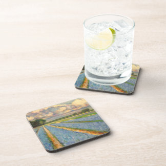 Spring Flowers Triptych picture 3 of 3 Drink Coaster