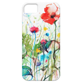 Spring Flowers Watercolors Illustration iPhone 5 Case