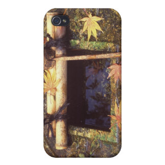 Spring for Tea Ceremony Ryanji Temple Kyoto iPhone 4 Cases