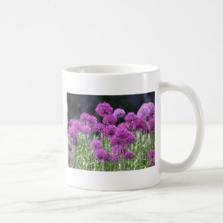 Spring Forest Purple Flowers of Garlic Mug