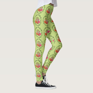Spring Foxes Kissing Leggings