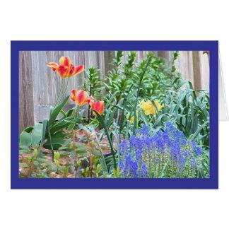 Spring Garden color card