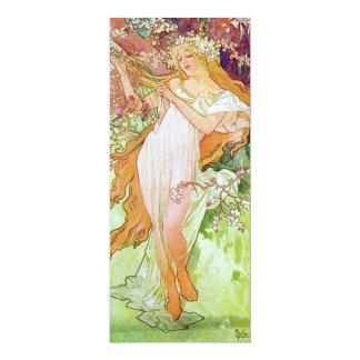 Spring Goddess Personalized Invitations