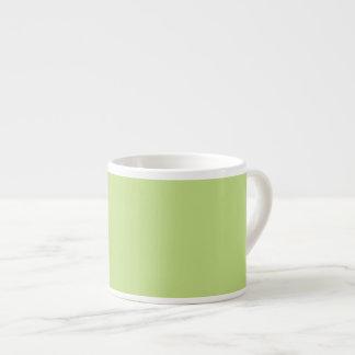 Spring Green Color Ready to Customize Espresso Mug