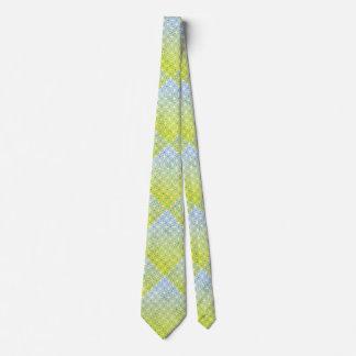 Spring Green Sky Blue Tie
