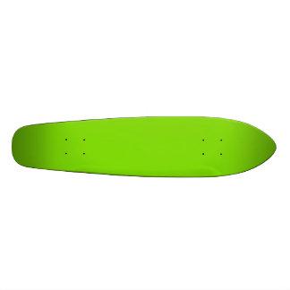 SPRING GREEN (solid color) ~ 19.7 Cm Skateboard Deck