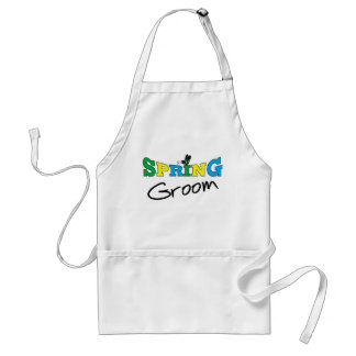 Spring Groom T-shirts and Gifts Standard Apron