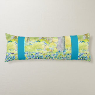 Spring Grove Blue and Green Body Pillow