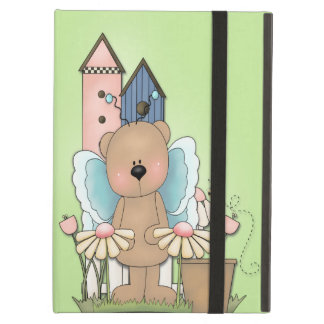 Spring Has Sprung, Adorable Butterfly Bear iPad Air Covers