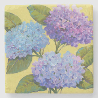 Spring Hydrangeas I Stone Coaster