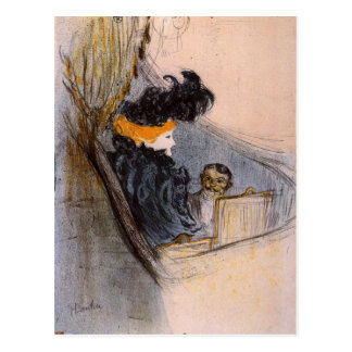 Spring idyll by Toulouse-Lautrec Postcard