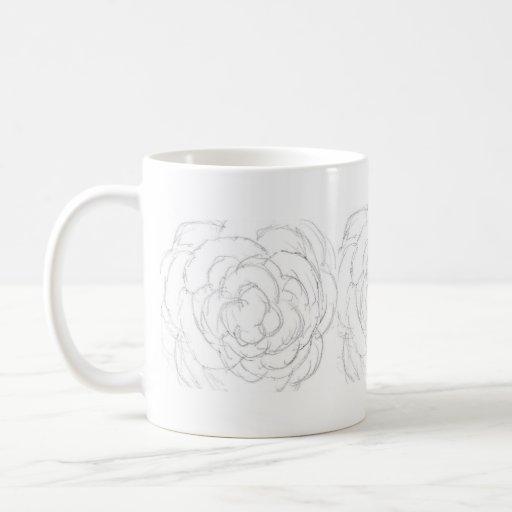 Spring Imagination - A Rough Rose Mug