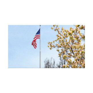 Spring in America Gallery Wrapped Canvas