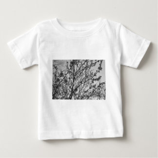 Spring in Black and White Baby T-Shirt