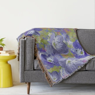 Spring In Bloom Throw Blanket