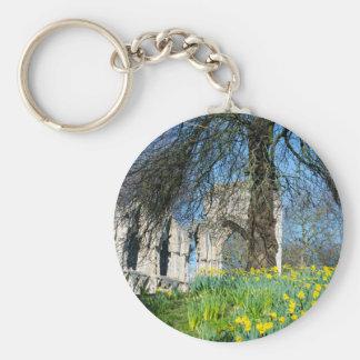 Spring in Museum Gardens Key Ring
