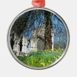 Spring in Museum Gardens Metal Ornament