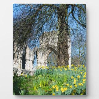 Spring in Museum Gardens Plaque