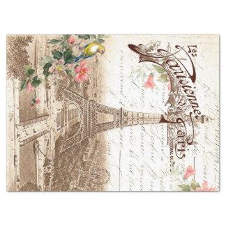 Spring in Paris Decoupage Tissue Paper