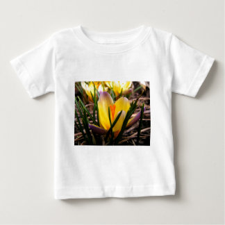 Spring in the air, Crocus are blooming! Baby T-Shirt