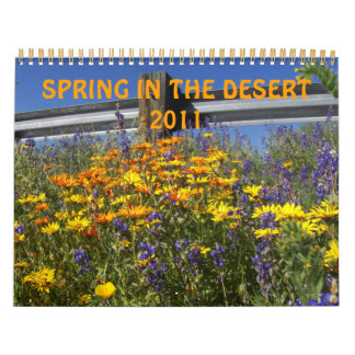 SPRING IN THE DESERT CALENDAR