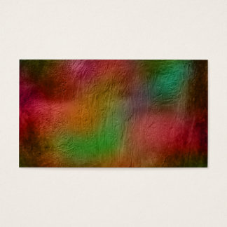 Spring in the forest textured business card