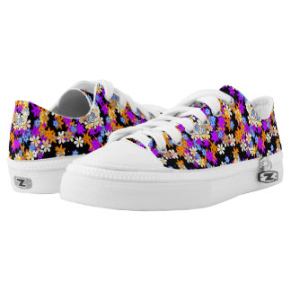 """""""Spring In Your Step"""" Flower Print Sneakers"""
