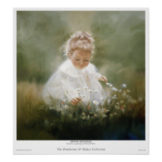 Spring Innocence Print