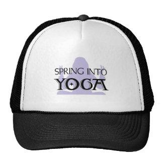 Spring Into Yoga Trucker Hat