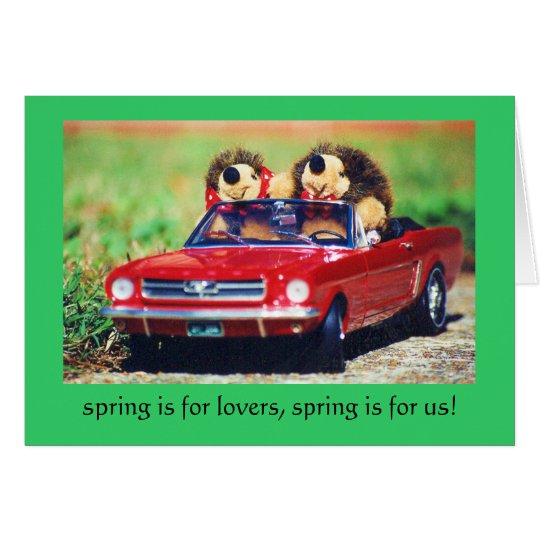 spring is for love card