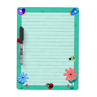 Spring is Here! Dry Erase Board