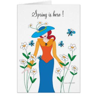 Spring is here Garden Card