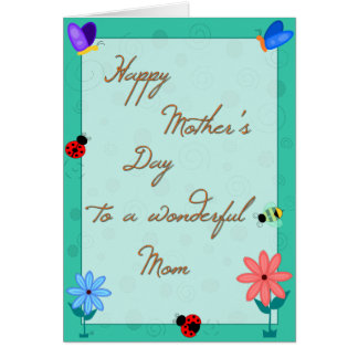 Spring is Here! Mother's Day Card